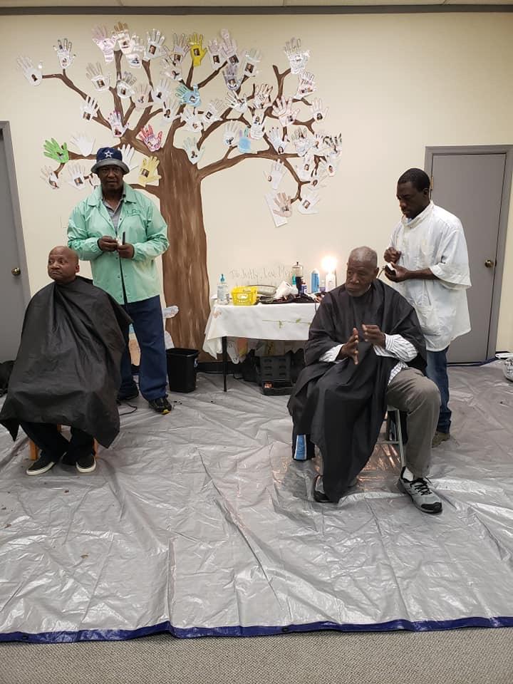REAL Life free haircuts